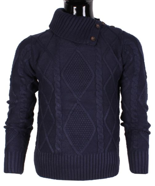 KNIT TURTLENECK<br> MAN BY TONY MORO<br>HL8121