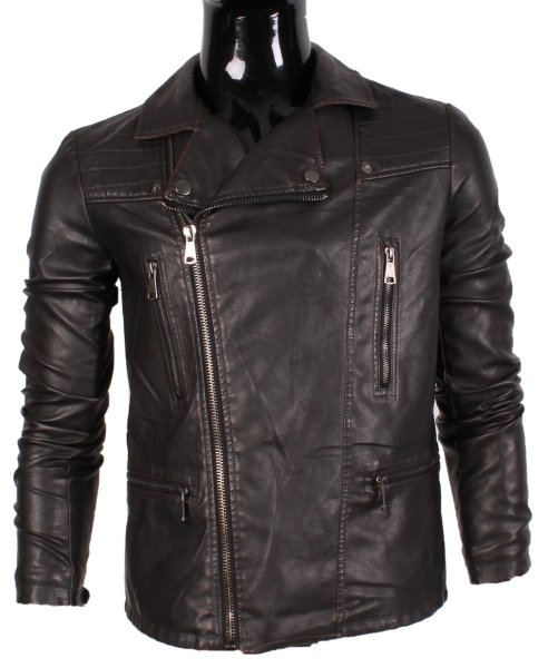 IMITATION LEATHER<br> JACKET MEN BY TONY<br>MORO YS6620