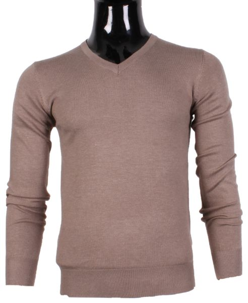 V NECK SWEATER MEN<br>BY TONY MORO HL8067