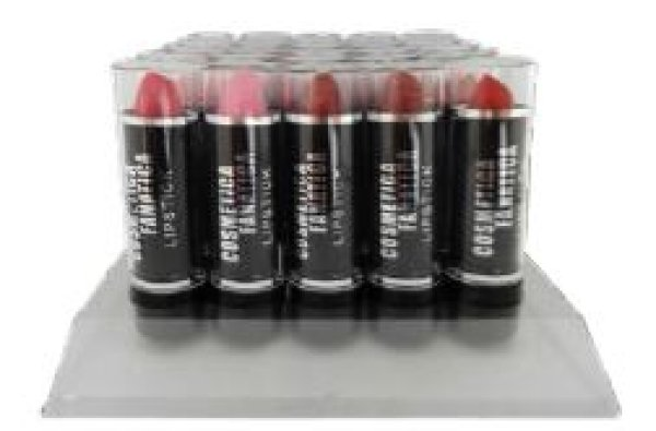 Lipstick - Assorted Dark - made in EU