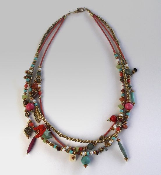 Fantasia necklace<br> - Multicolor Beads<br>Necklace