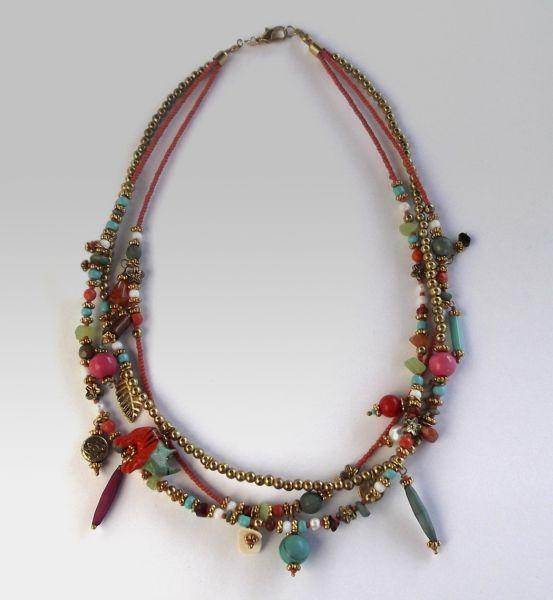 Fantasia necklace<br> - Multicolor Beads<br>Necklace