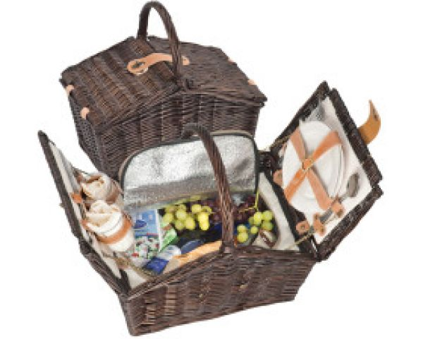 Picnic Baskets<br> Weidengefl. / 2<br>pers.