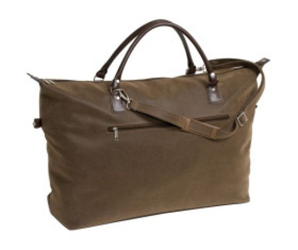Travel bag in<br>leather look