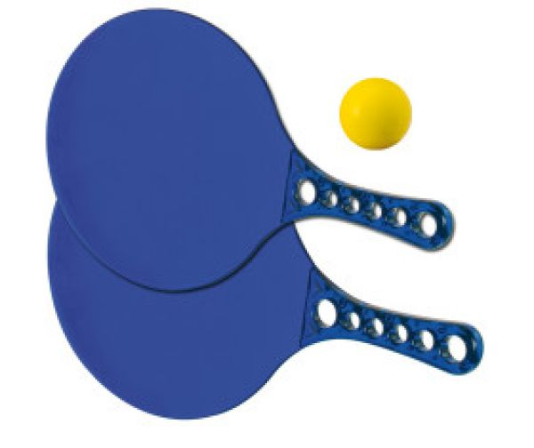 Beach Ball Set<br> with two rackets<br>and a ball
