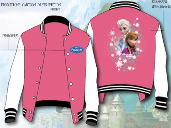 frozen BASEBALL JACKET