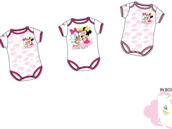 Minnie MOUSE BODY<br>SET 3 PIECES