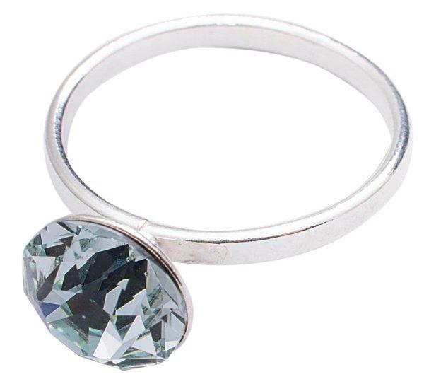 silver Ring with<br> swarovski Xirius<br>Azore