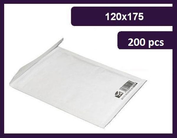 Envelope Bubble, A / 1 120x175 mm, 130g, eco