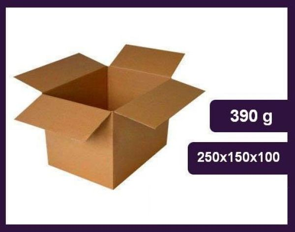 BOX flap cartons<br>250x150x100