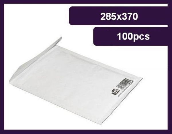 Bubble Envelope, H / 8<br>285x370 mm, 80g, eco