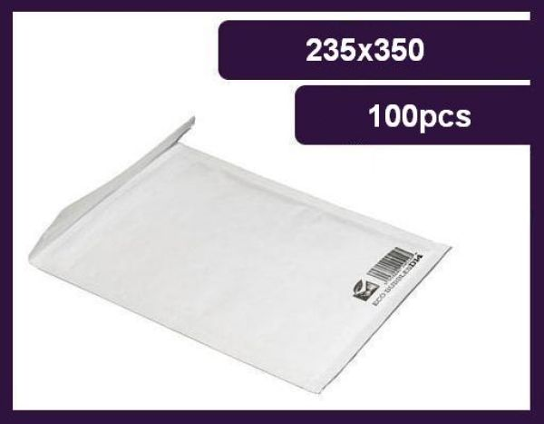 Envelope Bubble, F / 6 235x350 mm, 80g, eco
