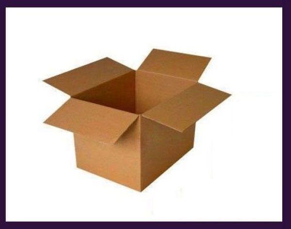CARDBOARD BOXES<br>lobed 592x175x200