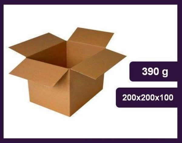 BOX flap cartons<br>200x200x100
