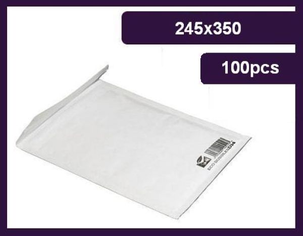 Envelope Bubble, G / 7 245x350 mm, 80g, eco
