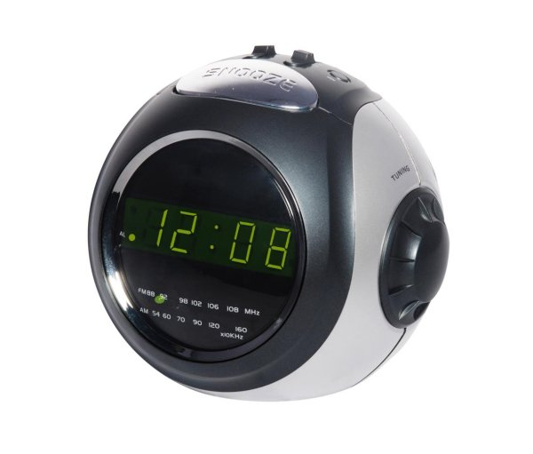 Digital Alarm<br> Clock Radio<br>Silvano SL-7911