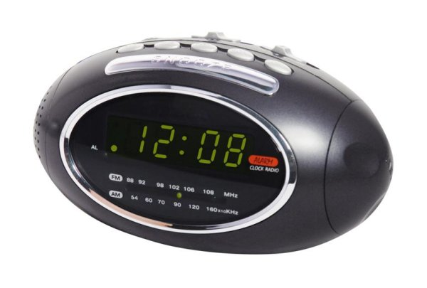 Digital Alarm<br> Clock Radio<br>Silvano SL-7913