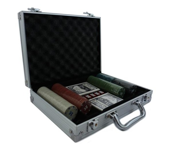 Briefcase 200 chips Poker PKR-983
