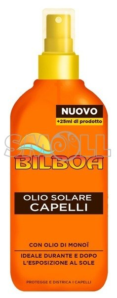 BILBOA SUN OIL<br>HAIR 150 ML.
