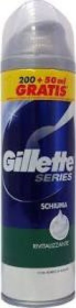 GILLETTE SERIES<br> FOAM 200 + 50ML<br>RIVITALIZZANTE