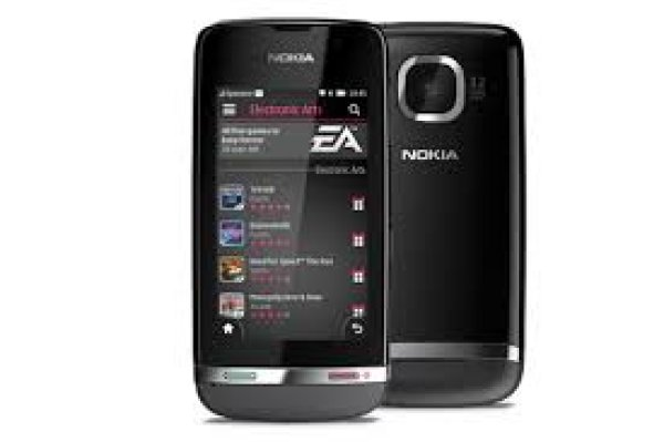 NOKIA ASHA 311<br>SANDY WHITE TIM