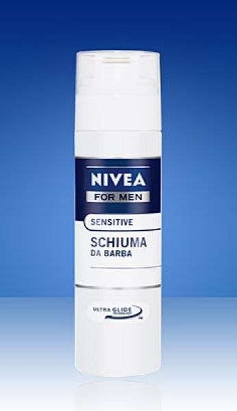 NIVEA BARBE FOAM<br>SENSITIVE 200ML