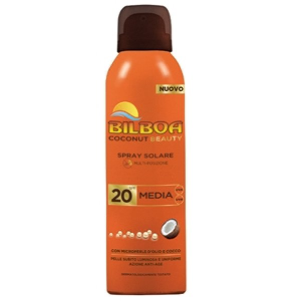 BILBOA COCONUT<br> BEAUTY SUN SPRAY<br>150 ML.