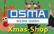 Firmenlogo OSMA Werm GmbH.