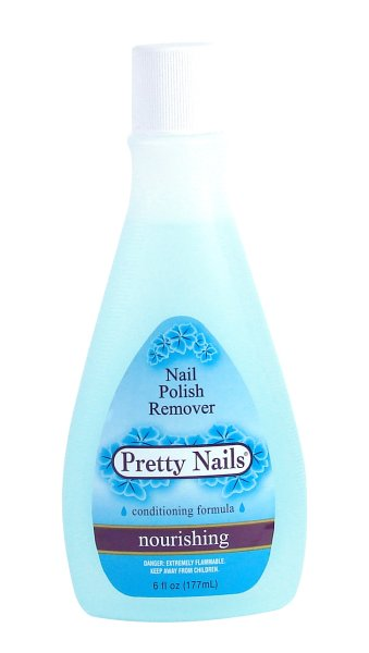 Pretty Nails<br> Polish Remover<br>nourishing