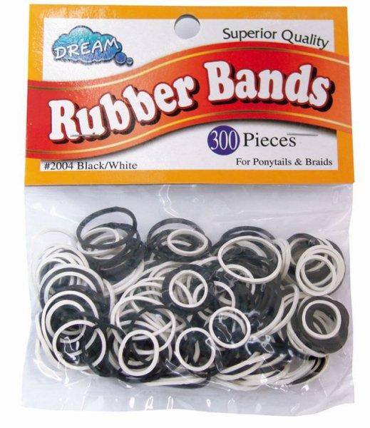 Dream Fix<br> Rubberband 300<br>Black &amp; White