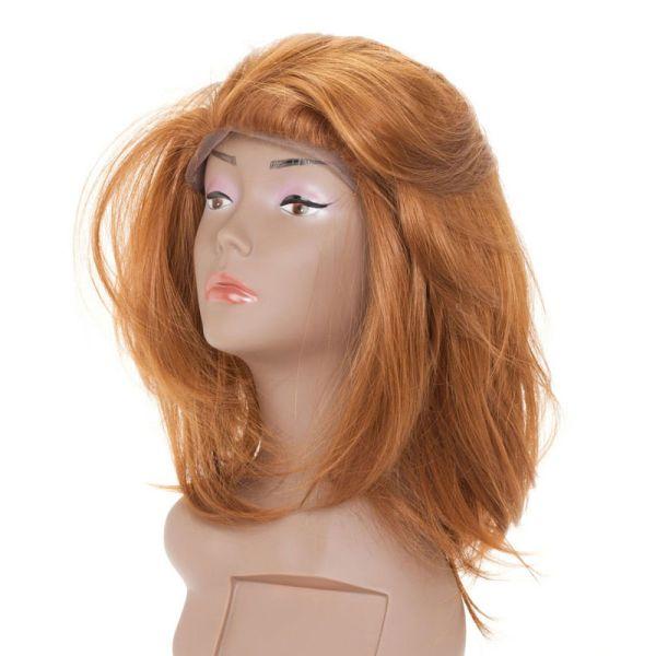 Front Lace<br> Kunsthaarperücke<br>lang blond glatt