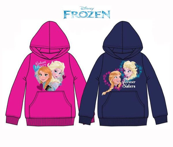 Kapuzen Frozen Mädchen