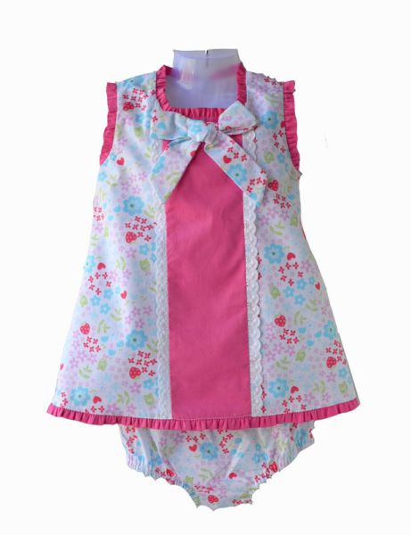 Print dress baby<br>diaper covers