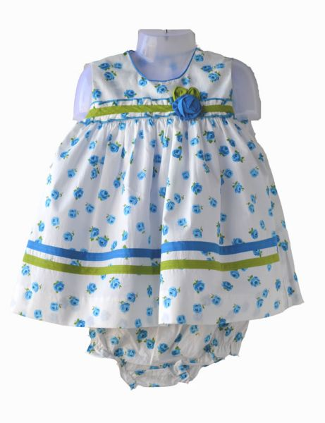 Baby print dress