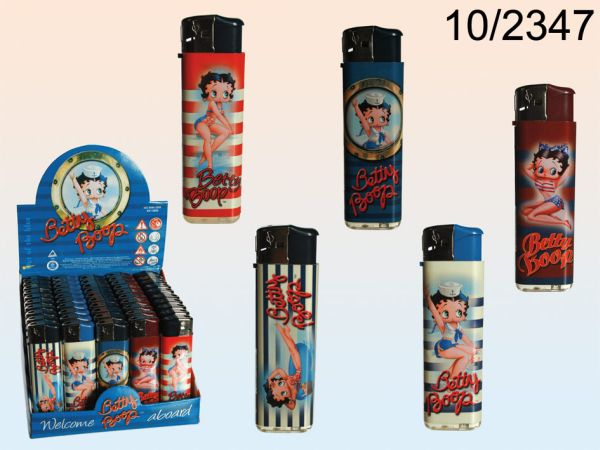 Electric lighter,<br>Maritime Betty Boop,