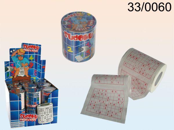 Toilettenpapier,<br>Sudoku, ca. 24 m