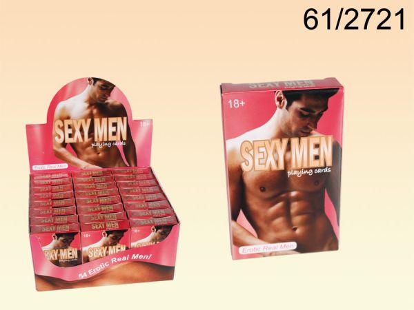 Kártyázás, Sexy<br> Boys I, 54 kártya<br>laponként