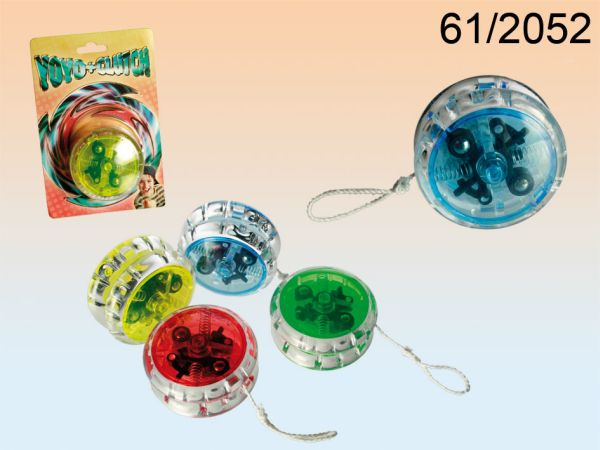 Plastic yoyo with<br> clutch &amp; ball<br>bearings
