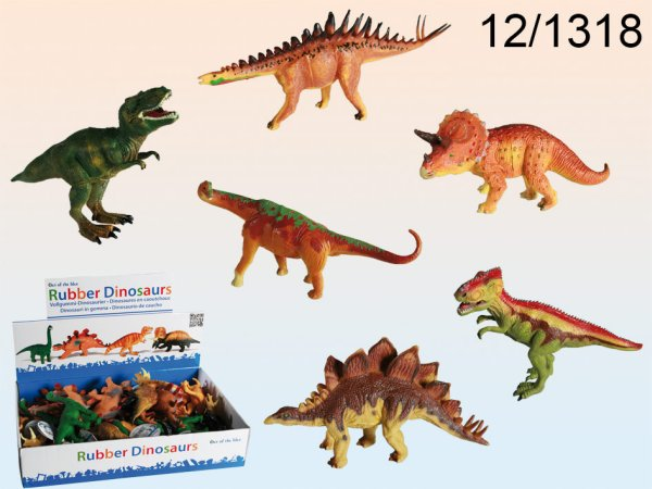 Plastic<br> characters,<br> dinosaurs, about ...