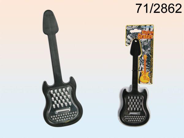 -Edelstahl<br> Küchenreibe,<br> E-Gitarre, ca. 27 ...