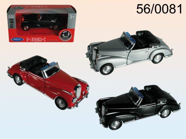 Model car with<br> pull-back motor,<br>Mercedes-Benz 5530