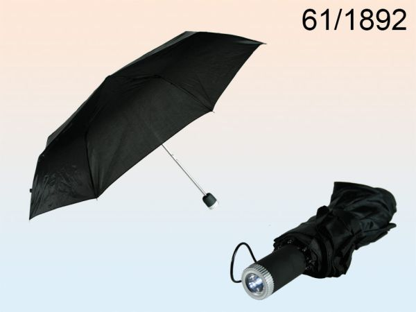 Umbrella with LED<br>Flashlight