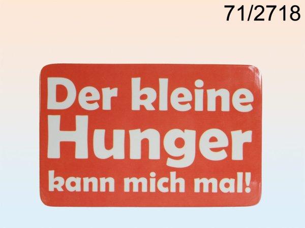 -Melamin<br> Frühstücksbrett,<br>Der kleine Hunger