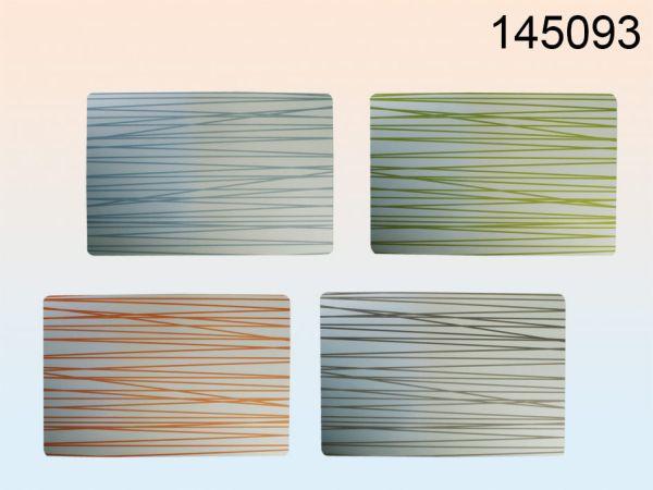 Polypropylen<br> Tischset mit<br>Streifen 45x30cm