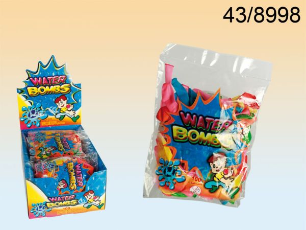 Water balloons,<br>100 pcs in a polybag