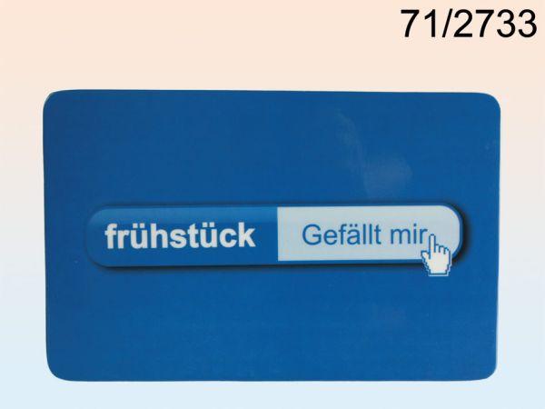 -Melamin<br> Frühstücksbrett,<br> Frühstück - ...