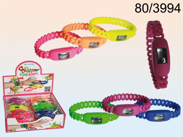 Silicone<br> Wristwatch cord<br>unit size