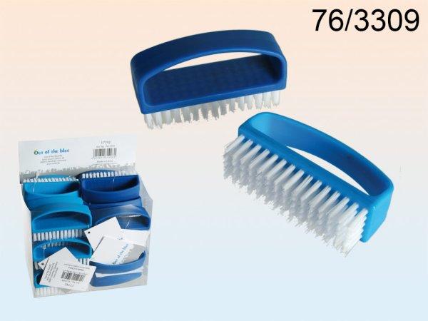 -Kunststoff<br> Nagelbürste, ca.<br> 8,5 cm, 2-farbig ...