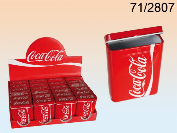 Metal Cigarette<br>Box Coca Cola 9x7cm