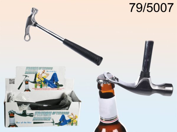 Steel Hammer,<br> After Work with<br>Bottle Opener